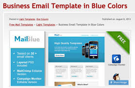 223 free responsive email templates online template creator