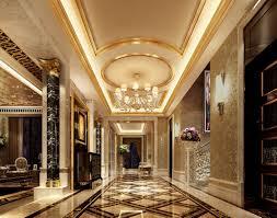 luxury style luxury palace style villa corridor 3d house free