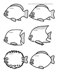 printable fish bowl template clip art library