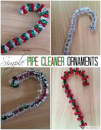 simple pipe cleaner ornaments