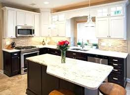 Two Tone Painted Kitchen Cabinet Ideas Kitchen Decorating Themes Tone Cabinets Two Toned Pictures Painted