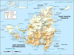 Map Of Caribbean Island by List Of Airports In Saint Martin Wikipedia