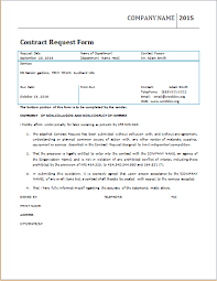 contract request form template at worddox org microsoft