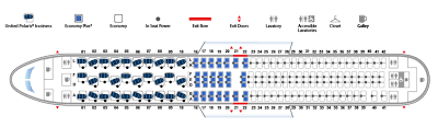 Boeing 777 300er Seat Map Revealed United 767 Polaris Cabin Layout Live And Let U0027s Fly