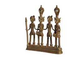 buy handicrafts online metal tribal showpiece home decor design