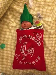 Sriracha Halloween Costume Food Themed Halloween Costumes Babies