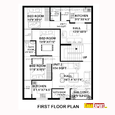 house plan for 30 feet by 40 plot size 133 square yards plans
