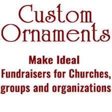 custom keepsake ornaments for non profit organizations tom