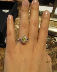 yellow engagement rings new yellow diamond engagement ring purseforum