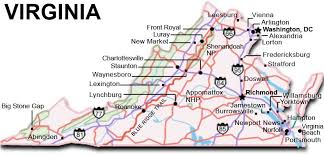 virginia map maps update 830398 tourist attractions map in virginia