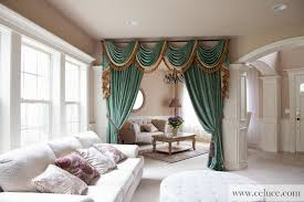 Curtains Seattle Green Chenille Swag Valance Curtains By Celuce Com Traditional