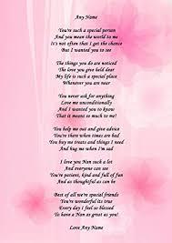 mothers day gift for nanny nan personalised poem certificate gran nanna nanny