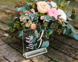 acrylic table numbers wedding table numbers wedding table numbers acrylic table numbers