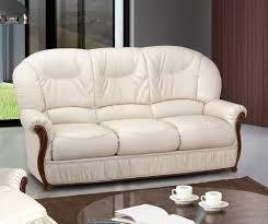 canapé cuir et bois merveilleux canapé cuir et bois a propos de canapé fixe 3 places