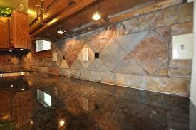 Slate Backsplash In Kitchen Slate Tile Backsplash Kitchen Traditional With 48 Range Beige