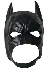 Batman 3 4 Mask