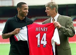 From Challenge Thierry Henry I Would Not Back From Challenge Of Replacing
