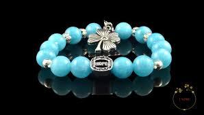 blue quartz bracelet images Apaisant soothing blue quartz bracelet unime gems jpg