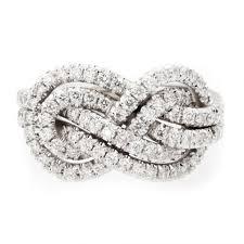 infinity diamond ring outstanding dainty diamond jewelry infinity knot diamond