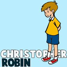 draw christopher robin winnie pooh step step