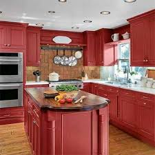steal ideas from our best kitchen transformations red kitchen