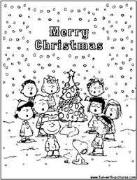 peanuts brown christmas a brown christmas coloring pages brown christmas