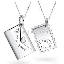 necklaces names letter couples necklaces with custom names engraved