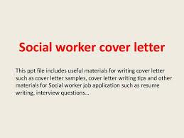 social worker cover letter best social worker cover letter