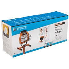 best construction work lights designers edge home light 500w halogen tripod work light l 10