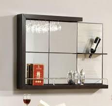 turning closet into bar gorgeous design ideas bar mirror with shelves modest turn closet