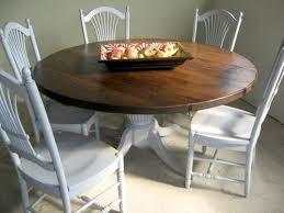 diy round farmhouse table delightful design farmhouse round dining table nobby diy round