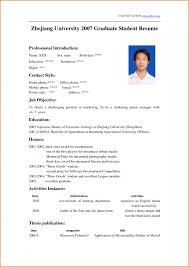 excellent cv sample good resume examples for university students cv template