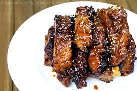 chinese style sticky ribs recipe u0026 video seonkyoung longest