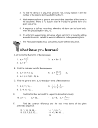 grade 10 math module 1 searching for patterns sequence and series