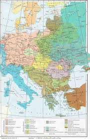 Map Central Europe by Languages In Central And Eastern Europe 1910 Full Size