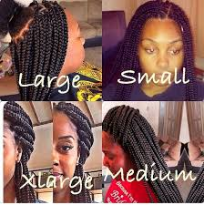 medium box braids with human hair best 25 box braids sizes ideas on pinterest thick box braids