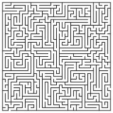 printable maze 77