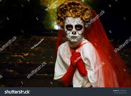 woman mask halloween young woman day dead mask skull stock photo 116579146 shutterstock