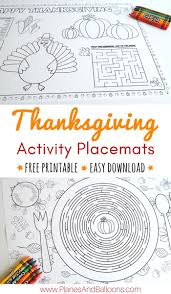 thanksgiving placemat for kids best 25 thanksgiving placemats ideas on pinterest november
