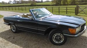 used mercedes used mercedes sl 450 sl 1974 lovely deep midnight metallic blue