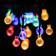 String Of Fairy Lights by Novelty String Lights Water Drop Med Art Home Design Posters