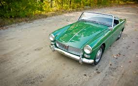 1962 1966 mg midget collectible classic automobile magazine