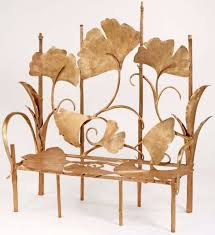 ginkgo brilliant dining chairs by claude lalanne