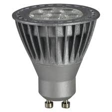 tcp led gu10 5w silver light bulb pagazzi lighting