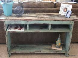 sofa table design barn wood sofa table awesome rustic design