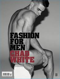 chad white stars in special issue of fashion for men