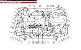 volvo s40 runs fine warmed it will not restart untill it