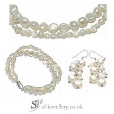 sterling silver wedding necklace images Jewellery sets sterling silver necklace earring sets jpg