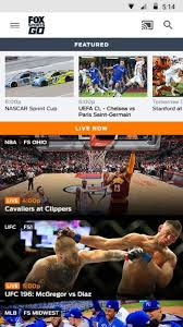 fox sports go app for android app sports android antagonis fox sports go free
