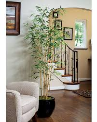 Fake Trees For Home Decor | 5 golden bamboo artificial tree at officescapesdirect